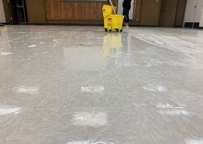 Hard Surface Floor Cleaning and Waxing