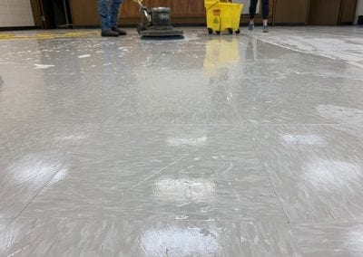 Hard Surface Floor Clean Wax