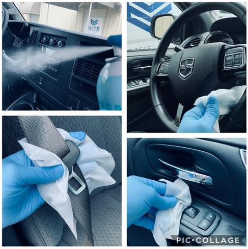 Clean and Sanitize Vehicle and Upholstery | Elite Services Conway Arkansas